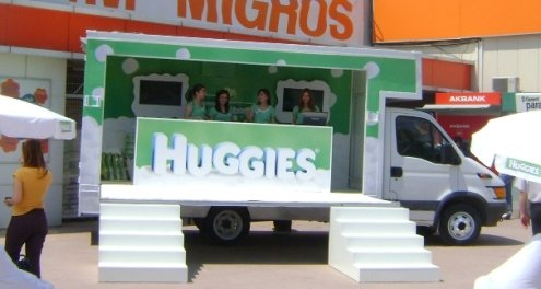 Huggies Roadshow